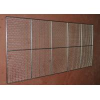 Buy cheap Food Grade Wire Mesh Tray , Wire Basket Cable Tray For Oven Food Processing from wholesalers