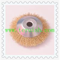 Buy cheap Crimped Wire Hole Plate Wheel Brushes TRC04 from wholesalers