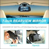 Buy cheap MP5 Includes Wireless 7 Inch LCD 12V Night Vision Wireless Car Reversing Camera System from wholesalers