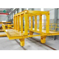 Buy cheap customized manual rail cart applied train railway with railings from wholesalers