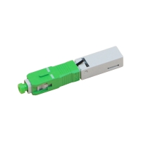Buy cheap Insertion Loss 0.3dB Sc Fast Connector / Fiber Optic Quick Connector / Sc Apc Fast Connector from wholesalers