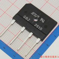 Buy cheap 25A 1000V diode bridge rectifier gbj2510 from wholesalers