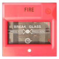 Buy cheap Fire Alarm System CJ-CP106 Conventional Manual Call Point Break Glass Reset by Key from wholesalers