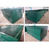 Buy cheap 8'H/2430mm*10'L/3048mm Canada standard construction fencing panels mesh 3x6 75mm x 100mm Tubing 1.2/30mmx1.5mm from wholesalers