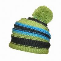 Buy cheap Ladies' Knitted Hat, Made of 100% Acrylic Iceland Yarn from wholesalers