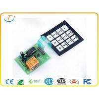Buy cheap Metal Dome PCB Membrane Keyboard Switch with Full Cover ESD tail product