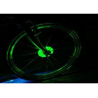 Buy cheap Electric Led Bike Wheel Lights Cycling Hubs Warning Bicycle Wheel Lights Spoke Lights from wholesalers