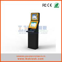 Buy cheap Utility Bill Payment Self Service Kiosk 1.5mm Or 3.0mm Or Upon Clients Thickness from wholesalers