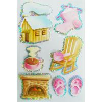 Buy cheap Die Cut  Seasonal Custom Hologram Stickers For Scrapbooks 2mm Thin Non Toxic from wholesalers