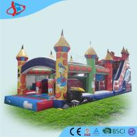 Buy cheap Business mickey mouse obstacle course bounce house inflatable for adults from wholesalers