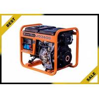 Buy cheap Economical 5 Kw Gasoline Electric Generator Orange Color Continuous Stable Running from wholesalers