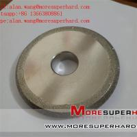 Buy cheap Electroplated Diamond Grinding Wheels for Profile Forming Or Surface Grinding Of Marble alan.wang@moresuperhard.com from wholesalers