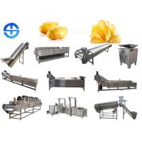 Buy cheap Fried Potato Chips Production Line Safe Operation With Stainless Steel Material from wholesalers