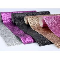 Buy cheap Fancy Spandex Chunky Glitter Fabric 54 Width For Shoes And Hair Bow from wholesalers