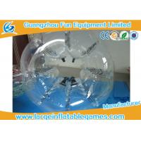 Buy cheap High Performence Transparent Inflatable Bubble Ball / Hamster Ball Popular Adults Soccer Sports from wholesalers