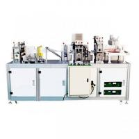 Buy cheap High Productivity Disposable Mask Making Machine , Medical Face Mask Machine product