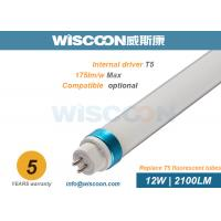 Buy cheap 12 Wattage 3 Feet Led Tube Light T5 120 Lm/W Efficiency For Home , 85-265V/AC from wholesalers