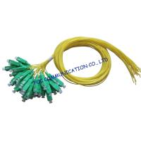 Buy cheap SM LAN Optical Fiber Pigtail 12 Pack SC / APC Low Insertion Loss from wholesalers