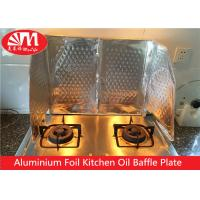 Buy cheap Kitchen Aluminium Foil Products Oil Baffle Plate Natural Silver Surface Keep Kitchen Clean product