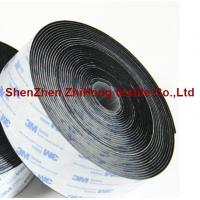Buy cheap 3M Strong Sticky Self Adhesive Hook And Loop Fasteners / Nylon Hook And Loop Straps from wholesalers