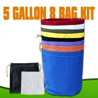 Buy cheap Red Blue Yellow Hydroponics herbal ice bubble bags hash bags with 5 Gallon 8 Bag from wholesalers