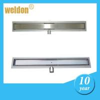 Buy cheap Long Stainless Steel Shower Drain Ultimate Linear Floor Drain for bathroom floor from wholesalers