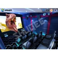 Buy cheap Small Mobile 7D Movie Theater With 9 seats possess Intelligent 7D control system product