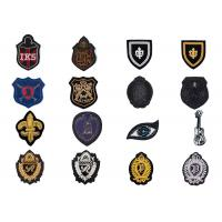 Buy cheap Spring indian silk music sign eyes shape embroidery high-quality clothing uniform accessories badge product
