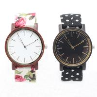 Buy cheap High Grade Custom Wooden Watches For Women With Cotton Cloth Band from wholesalers