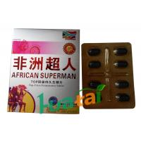 Buy cheap African Superman Pills Herbal Male Enhancement Sex Tablets Erection Pill with 72 hours from wholesalers