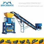 Buy cheap interlocking hollow block QT40-1  Semi auto cement Habiterra block machine price America Mexico from wholesalers