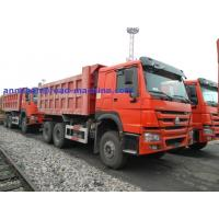 Buy cheap 10 Tires 30T LHD Heavy Duty Dump Truck 6X4 Euro 2 336HP Engine HYVA Front Lifting from wholesalers