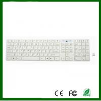 Buy cheap Chocolate Keyboard 2.4G White Wireless  PC Keyboard For DESKTOP PC Laptop from wholesalers