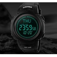 Buy cheap 2017 SKMEI Outdoor Sports Compass Watches Hiking Men  Digital LED Watch Man Sports Watches Chronograph Watch   1231 from wholesalers