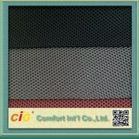 Buy cheap Waterproof Polyester Mesh Fabric For Mattress Motorcycle Seat Cover , 600D*300D Density product