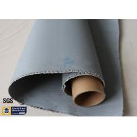 Buy cheap Grey Silicone Coated Fiberglass Fabric 1600GSM 47OZ Heavy Duty Welding Blanket from wholesalers