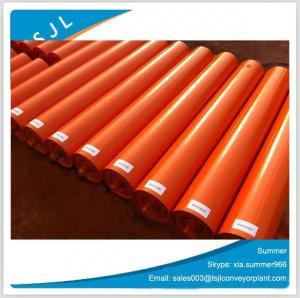 Buy cheap ISO Standard Steel Pipe Conveyor Idler/Belt Conveyor Carrying Roller/Trough Idler product