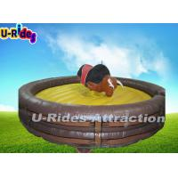 Buy cheap Big Body Automatic Mechanical Rodeo Bull Hire For Amusement Park from wholesalers