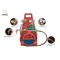China Professional Welding Tools And Equipment Tote Oxygen Acetylene Welding Cutting Torch Kit With Tank on sale