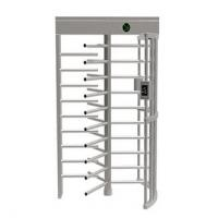 Buy cheap Semi Automatic Controlled Access Turnstiles , Low Noise Security Turnstile Gate from wholesalers