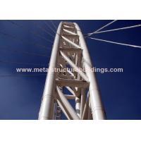Rust Proof Durable Prefabricated Steel Structures , Metal Industrial Buildings