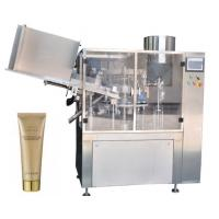 Buy cheap Small Capacity Cosmetic Filling Machine Plastic / Aluminum Tube Filling And Sealing Machine from wholesalers