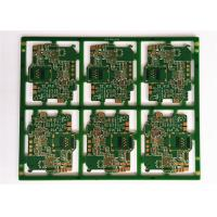 Buy cheap White Silkscreen Electronic PCB Board , FR4 Multilayer Circuit Board Assembly from wholesalers