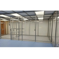 Buy cheap Stainless Steel Frame Simple Softwall Clean Room Class 100 To Class 100000 from wholesalers