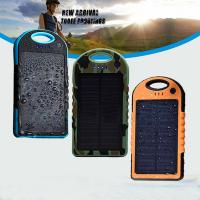 Buy cheap 2014 Hot selling ! New style 12000mAh portable waterproof solar charger for Iphone 6 from wholesalers