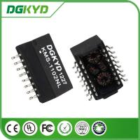 Buy cheap Customized Safety 1500V AC Isolated Transformers SMD 16 PIN 100BASE Filter from wholesalers