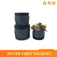 Buy cheap Silver First  China luxury round flower packaging box wholesale rose boxes flower hat box for sale from wholesalers