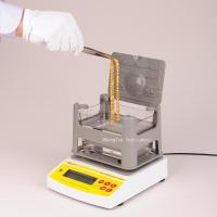 Buy cheap Digital Electronic Archimedes Gold Tester Machine , Densimeter for Gold , Gold Purity Densitometer from wholesalers