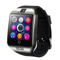 Buy cheap 2016 SmartWatch Q18 Wristwatch with Touch Screen Camera TF Card Bluetooth Fashion Smart Watch for Android Mobilephone from wholesalers