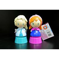 Buy cheap Frozen Princess Plastic Toy Figures With Disney Logo Blue / Pink Color from wholesalers